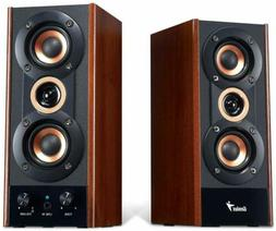 Genius SP-HF800A 3-Way Hi-Fi Wood Speakers for PC, MP3 Playe