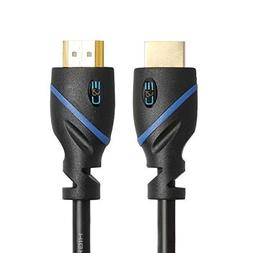 C&E High Speed HDMI Cable Supports Ethernet, 3D and Audio Re