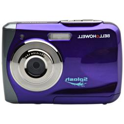 Bell & Howell Splash WP7 Waterproof Digital Camera Purple