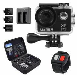 Sports Action Camera 4K HD 1080P@60fps 12MP WIFI Waterproof