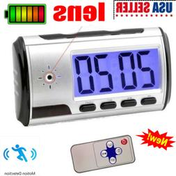 Camera Motion Security Alarm Clock Video Home Surveillance C
