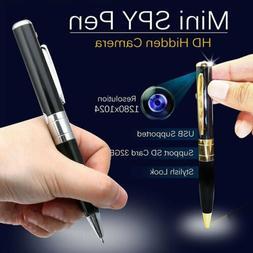 1080P HD Pocket Pen Camera Hidden Spy Mini Portable Body Cam