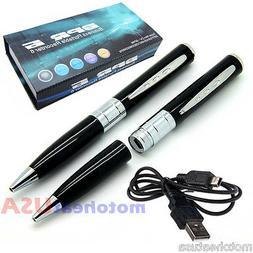 Spy Rec Pen Camera Mini Hidden DVR Surveillance Video Cam Ca