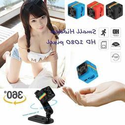 SQ11 Car Mini DVR Camera HD Camcorder CMOS 1080P Night Visio