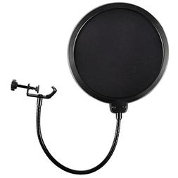 Microphone Pop Filter For Blue Yeti and Any Other Microphone