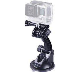 Smatree Suction Cup Mount Compatible for GoPro Hero 7/6/5/4/