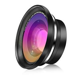 RegeMoudal HD Super Wide Angle Lens 37MM 0.39X Conversion wi