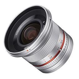 Samyang SY12M-MFT-SIL 12mm F2.0 Ultra Wide Angle Lens for Ol