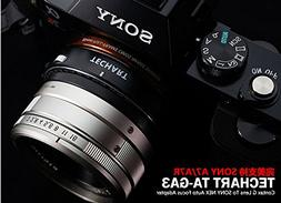 JFOTO Techart Auto Focus Lens Adapter 3rd Designed for Conta