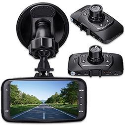 """digitsea 2.7"""" 1080P HD TFT Screen Car DVR Vehicle Camera Vid"""