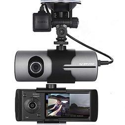 NOVPEAK 2.7 Inch TFT LCD Full HD Front & Rear Dual Camera V