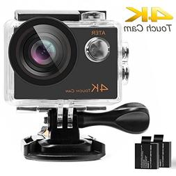 4K Touch Action Camera WiFi Ultra HD 16MP 30m Underwater Wat