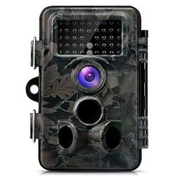 Trail Camera,with Day&Night Vision 12MP 1080P Game& Hunting