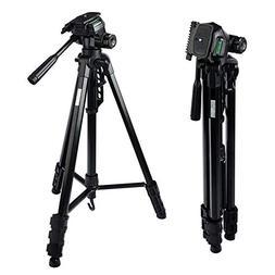 MOUNTDOG Camera Tripod 70'' Professional DSLR Aluminum Alloy