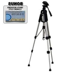 """Deluxe 57"""" Camera Tripod with Carrying Case For The JVC Ever"""