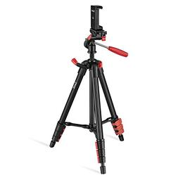 Travel Tripod, Zecti 16 to 47 Inch Lightweight Camera Tripod