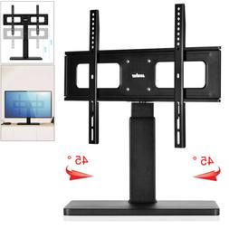 """TV Stand Base With Swivel Mount For 32-65"""" TV Entertainment"""
