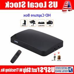 UHD 1080P 30FPS HDMI Capture USB2.0 HDMI AV Capture Card Box