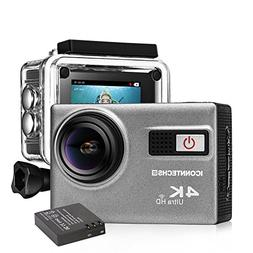 ICONNTECHS IT Ultra HD 4K Sport Action Camera WIFI 1080P 60f