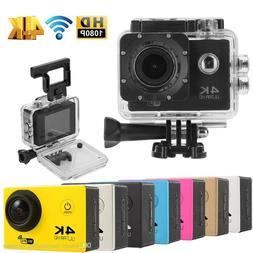 """Ultra HD 1080P Waterproof 2.0"""" Action Camcorder Sports DV Ca"""