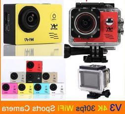 Ultra HD 4K 1080P WiFi SJ9000 DV Action Sports Camera Video