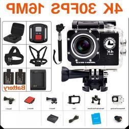 Ultra HD 4K action Camera wifi <font><b>Camcorders</b></font
