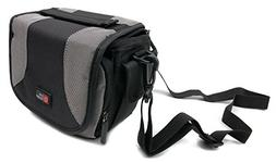Portable Camera Case with Padded Interior & Shoulder Strap f