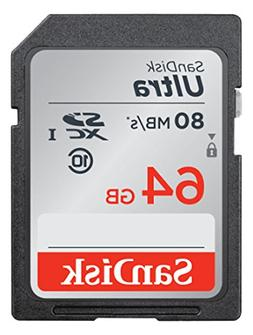 Ultra 64 GB Secure Digital Extended Capacity