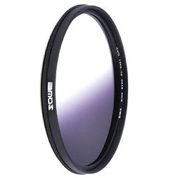 Zomei 82mm Ultra Slim Graduated Neutral Density Filter