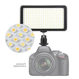 Andoer Ultra-thin 228pcs LED Video Light Panel 3200K / 6000K