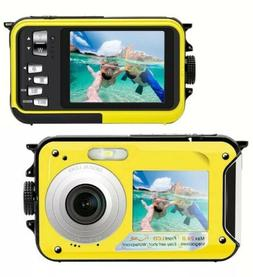 Underwater Camera 24.0MP Waterproof Digital Camera