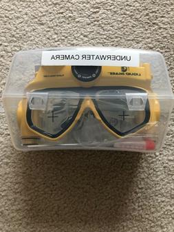 Liquid Image Underwater camera mask 16 MB Camcorder -  Yello