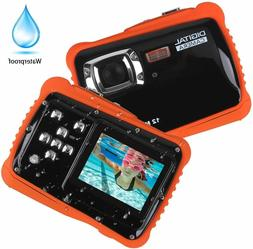 Underwater Kids Camera Waterproof Mini Digital Camera Camcor