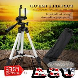 Universal Aluminum Portable Tripod Stand Camera Camcorder W