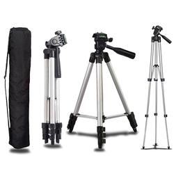 Universal Portable Aluminum Tripod Stand Camera Camcorder Li