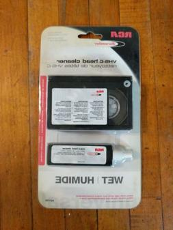Universal RCA VHS-C Wet Head Cleaner Compact Video Cassette