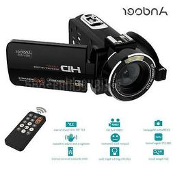 Andoer HDV-Z20 WiFi IPS HD 1080P 24MP Digital Video DV Camer
