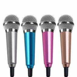 US Mini Stereo Microphone Mic For Android iPhone PC Chatting