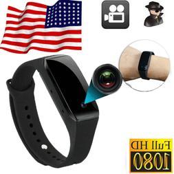 US Spy Hidden Full HD 1080P 32GB Video Camera Wrist Watch We