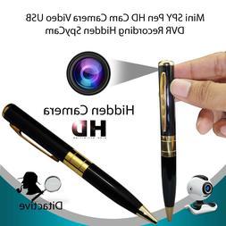 US Surveillance Camcorder Pen Mini DVR Camera/Video/Sound Re