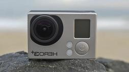 Used GoPro HERO 3+ Plus Black 4K 12MP Ultra HD Sport Action