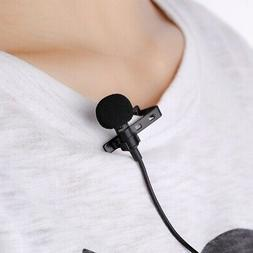 Useful Clip-on Lapel External Microphone For iPhone Smart Ph