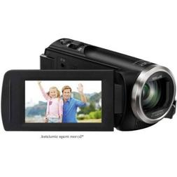 "Panasonic V180 Camcorder Full HD 2.7"" Display - Black"