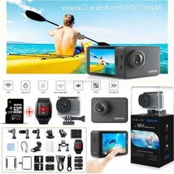 AKASO V50 Pro Native 4K 20MP WiFi Action Camera LCD Touch Sc