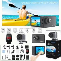 AKASO V50 PRO Waterproof 20MP Camera WiFi 4K Action Camcorde