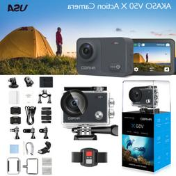 AKASO V50X Native 4K/30fps WiFi Action Camera Touch Screen A