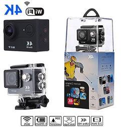 Bekhic V90 4K HD Wifi Sports Action Camera Ultra Waterproof