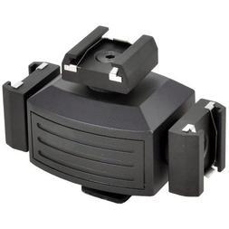 Opteka VB-30 Video Accessory Shoe Tripler Bracket for DSLR C