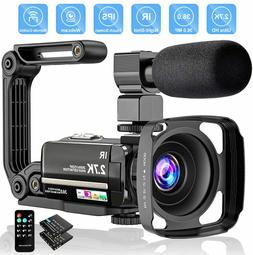video camera 2 7k camcorder ultra hd