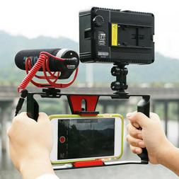 Video Camera Cage Stabilizer Film Making Rig for iPhone Sams